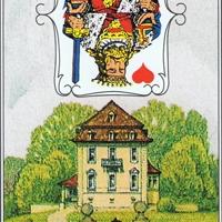 Lenormandkarten 4 von 36~ Das Haus
